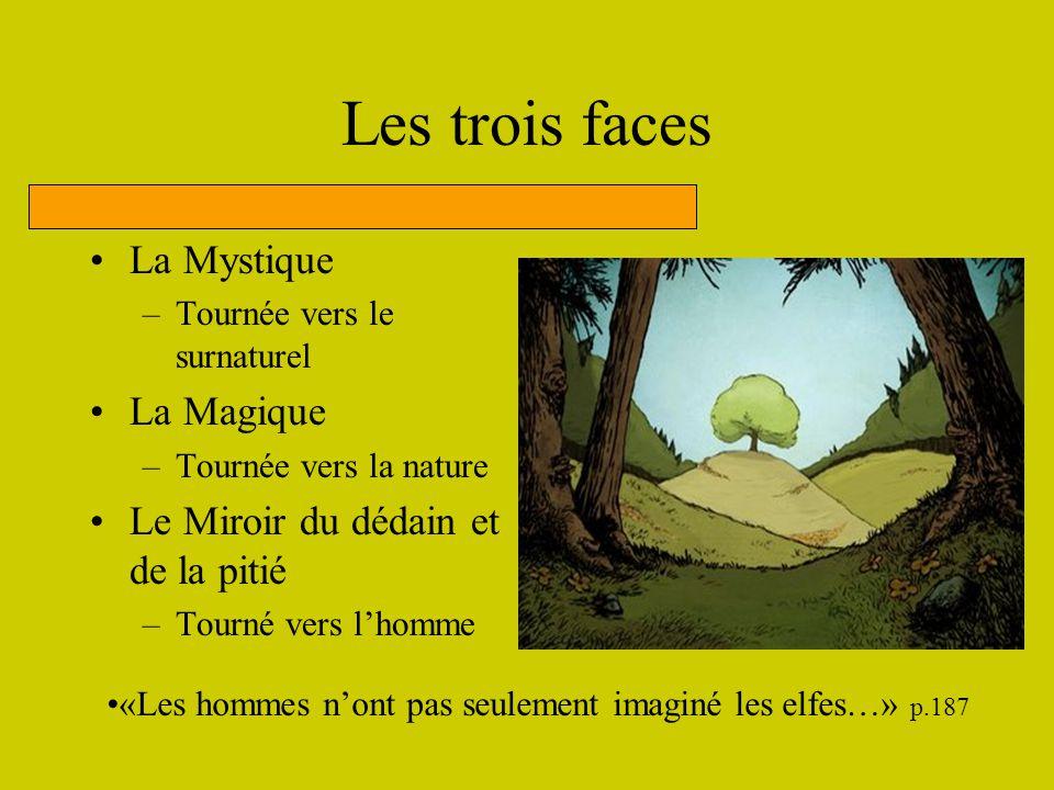 Les trois faces La Mystique La Magique