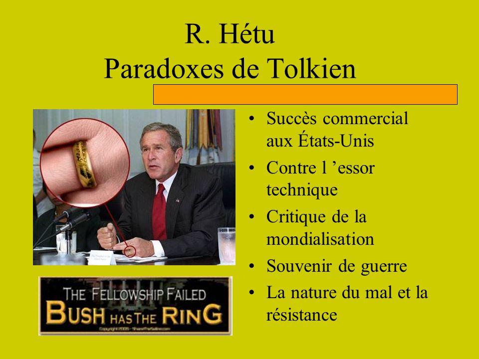 R. Hétu Paradoxes de Tolkien