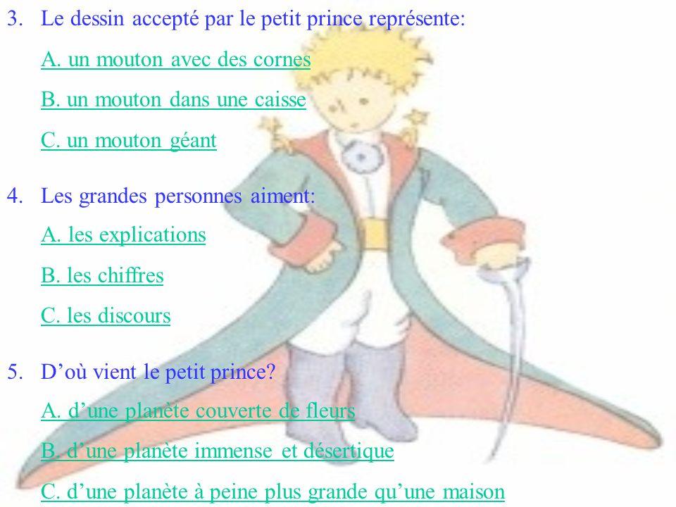 Le dessin accepté par le petit prince représente: