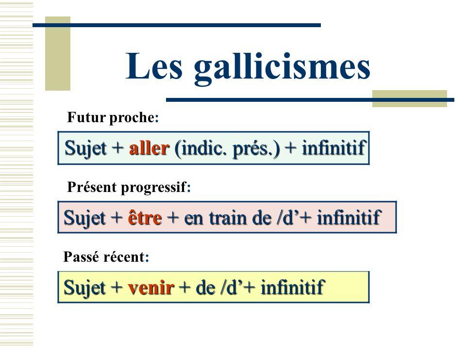 Sujet + aller (indic. prés.) + infinitif