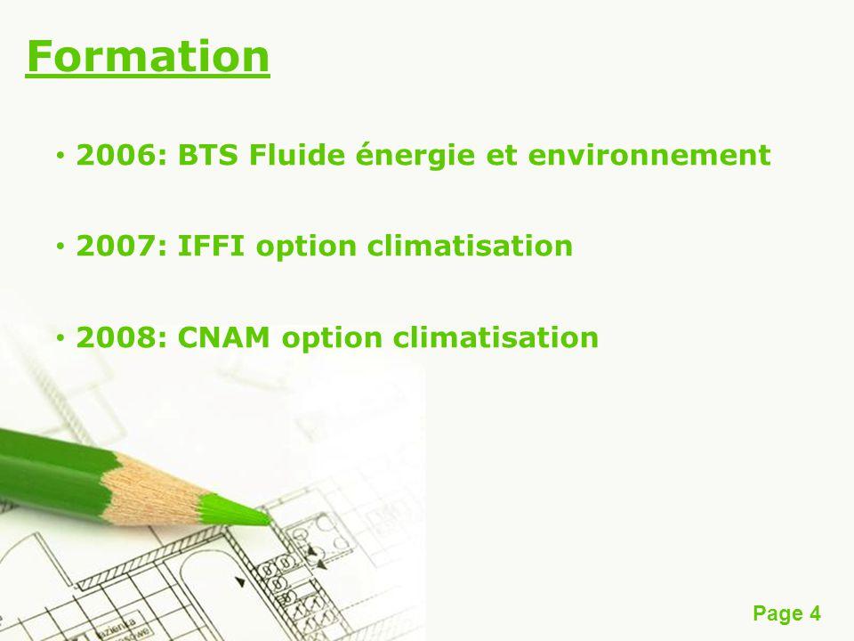 Formation 2006: BTS Fluide énergie et environnement