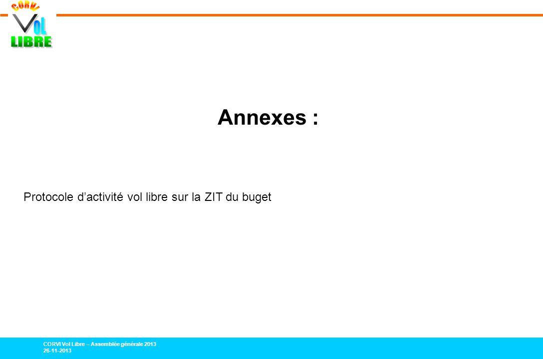 Annexes : Protocole d'activité vol libre sur la ZIT du buget