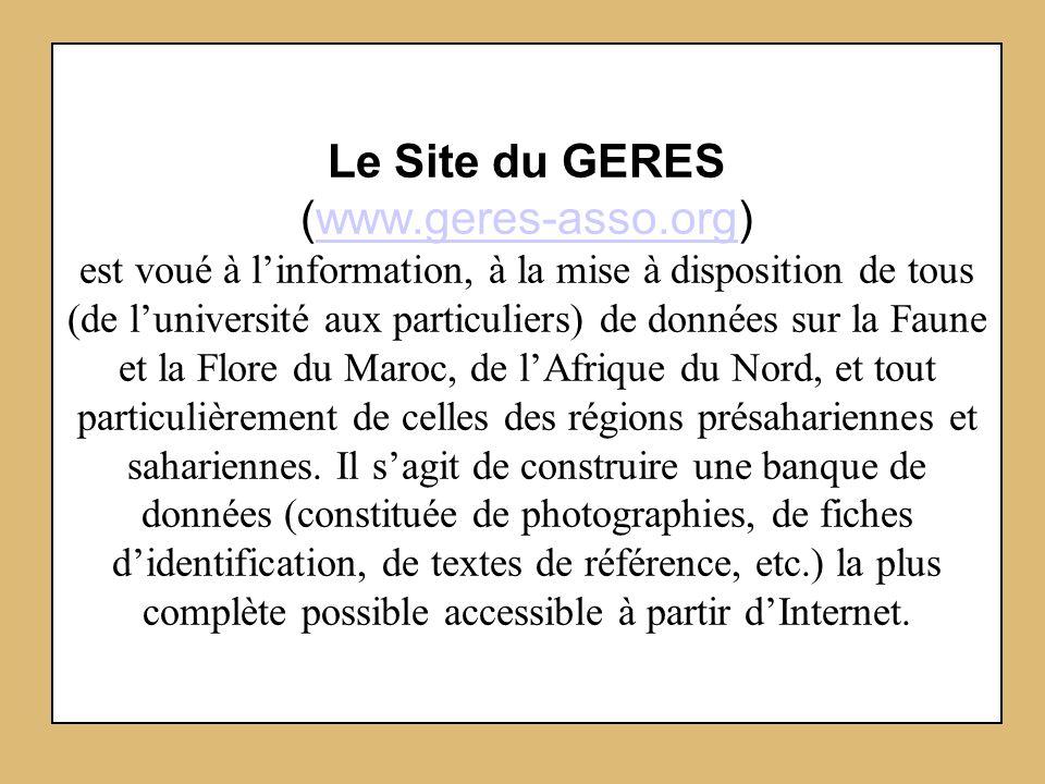 Le Site du GERES (www. geres-asso