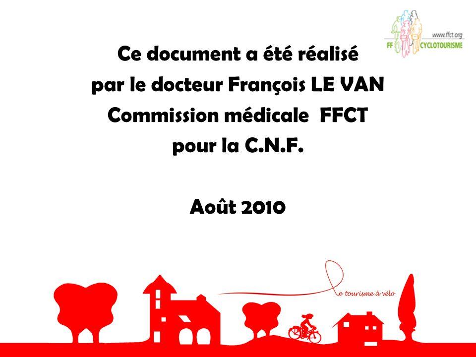 Ce document a été réalisé par le docteur François LE VAN