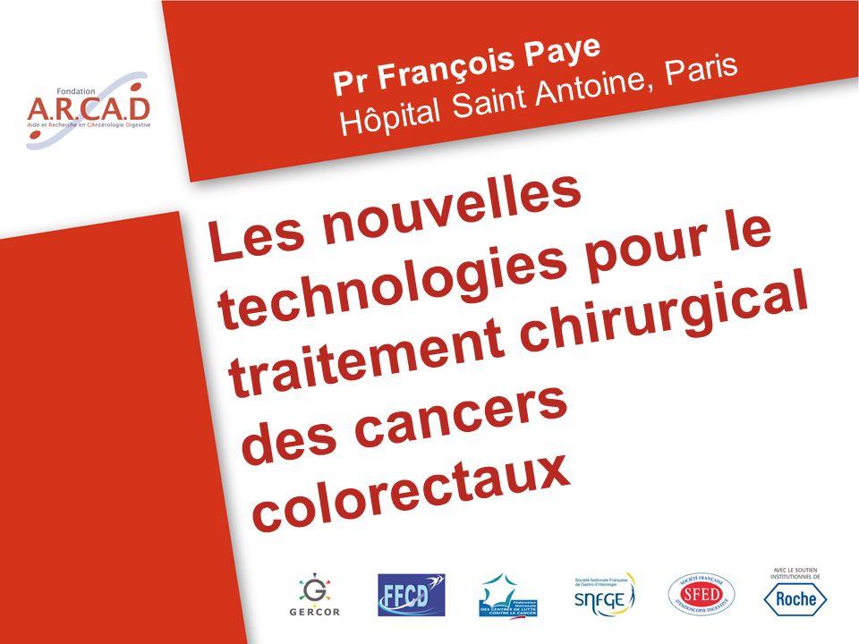 Pr François Paye Hôpital Saint Antoine, Paris.