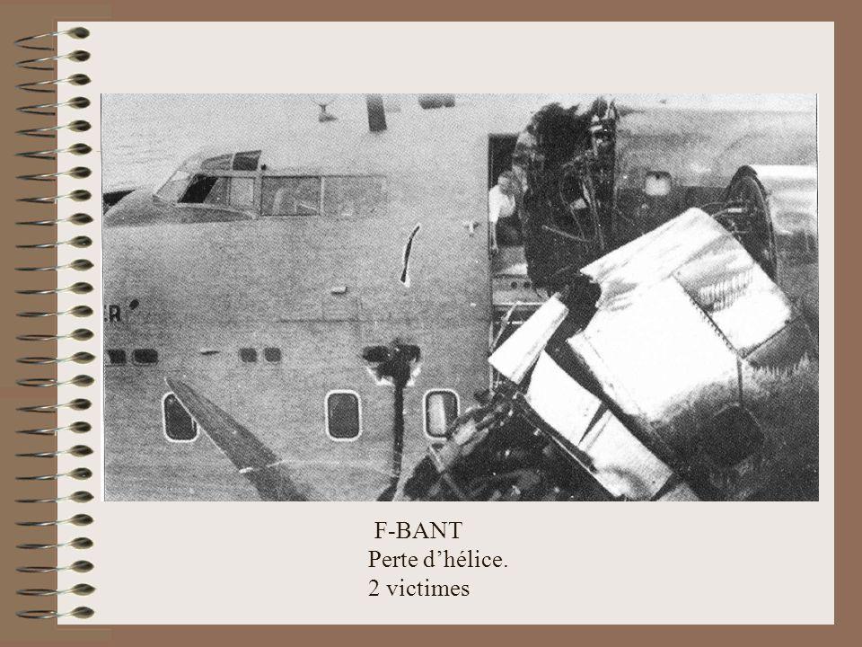 F-BANT Perte d'hélice. 2 victimes