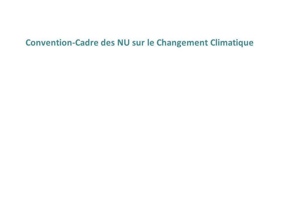 Convention-Cadre des NU sur le Changement Climatique