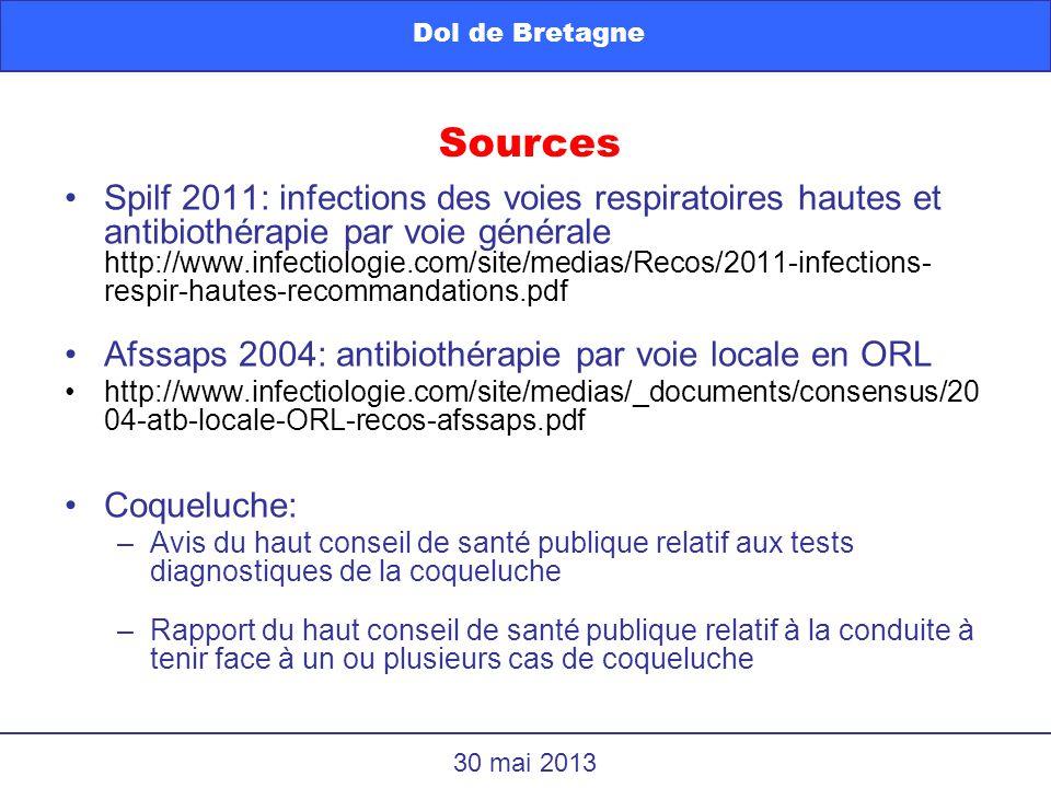 Dol de Bretagne Sources.
