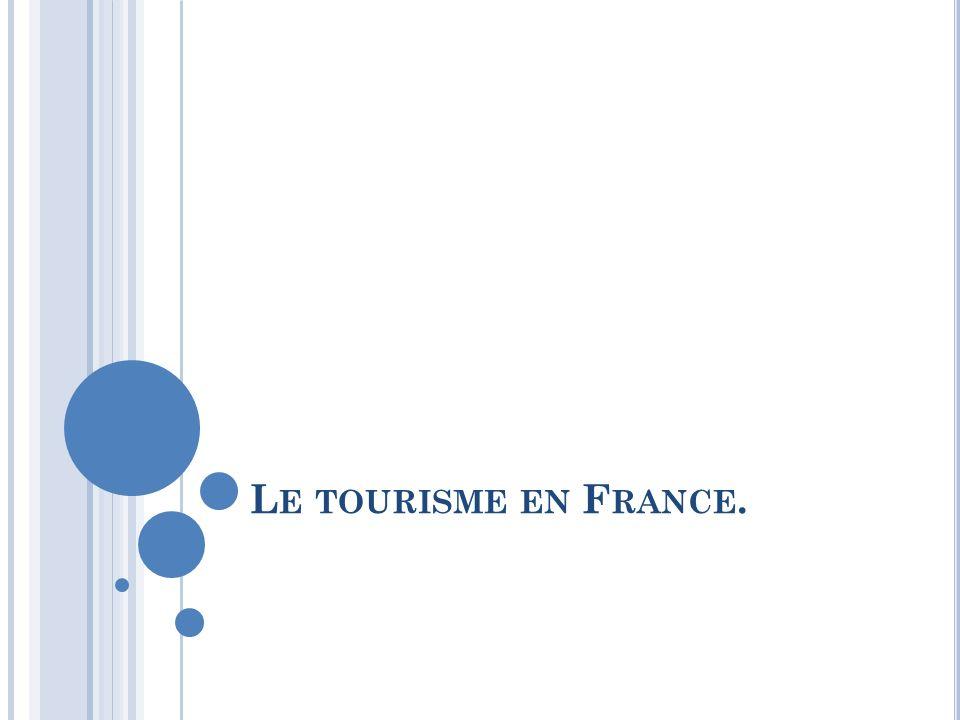 Le tourisme en France.