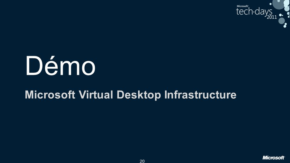 Microsoft Virtual Desktop Infrastructure