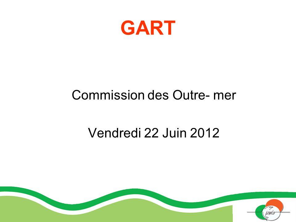 Commission des Outre- mer Vendredi 22 Juin 2012