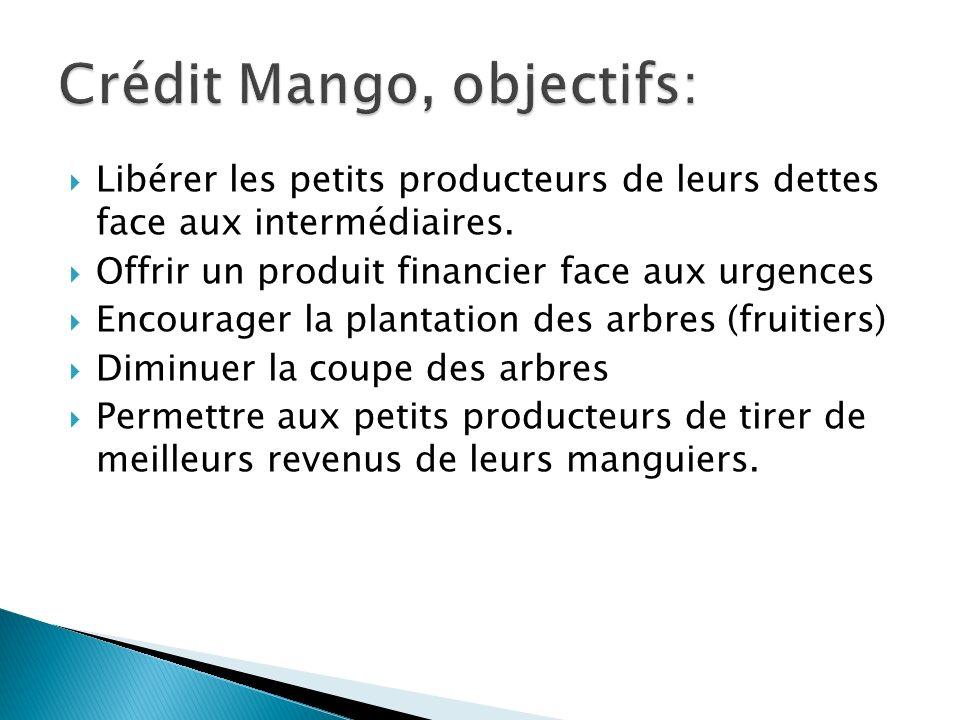 Crédit Mango, objectifs: