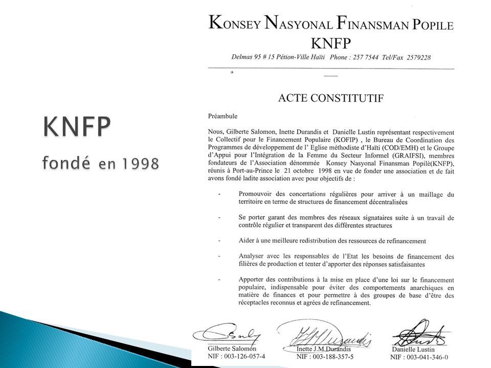 KNFP fondé en 1998
