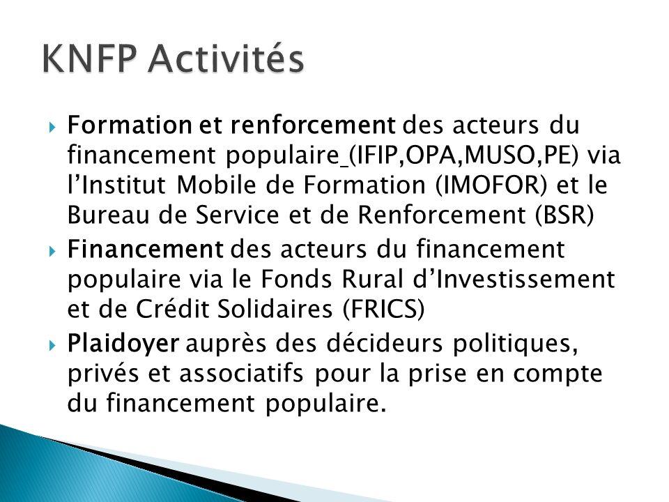 KNFP Activités