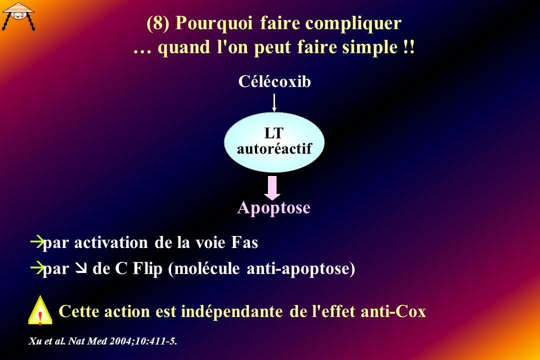 (8) Pourquoi faire compliquer … quand l on peut faire simple !!