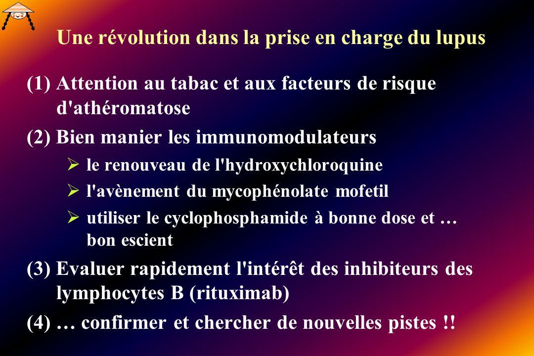 Une révolution dans la prise en charge du lupus
