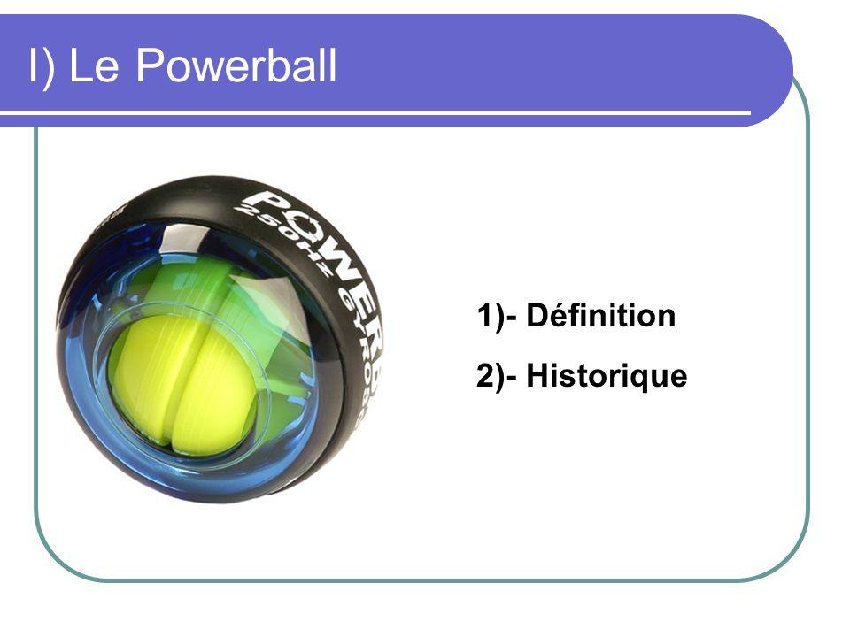 I) Le Powerball 1)- Définition 2)- Historique