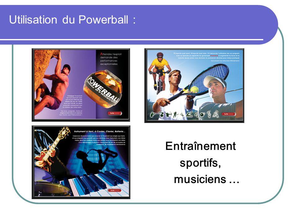 Utilisation du Powerball :