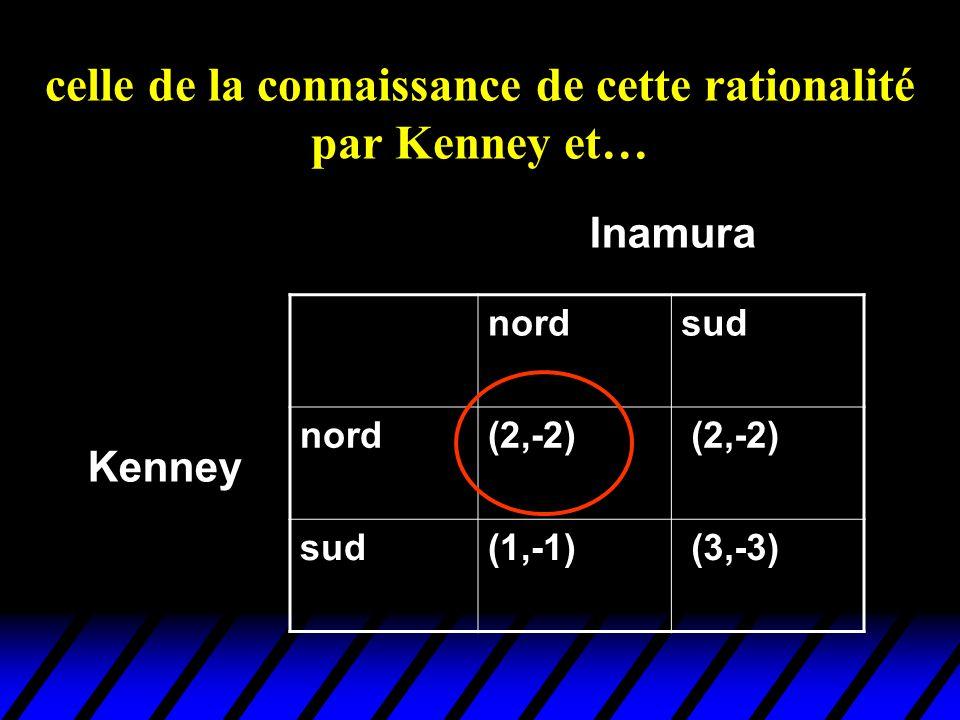 celle de la connaissance de cette rationalité par Kenney et…