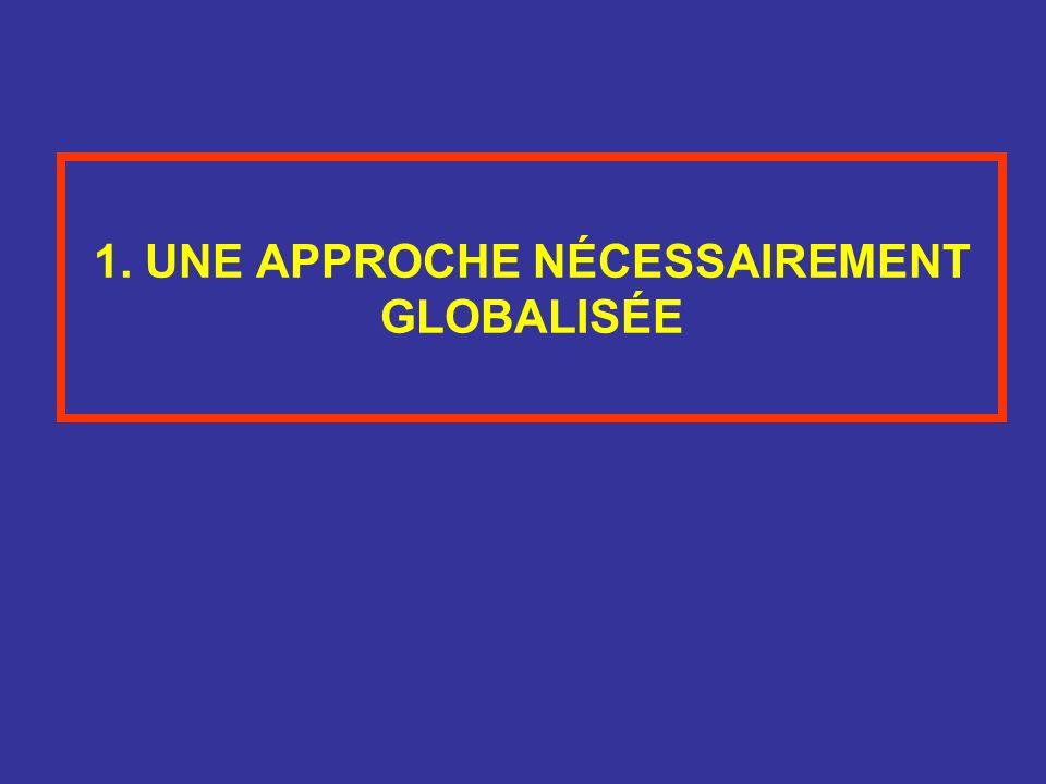 1. UNE APPROCHE NÉCESSAIREMENT GLOBALISÉE