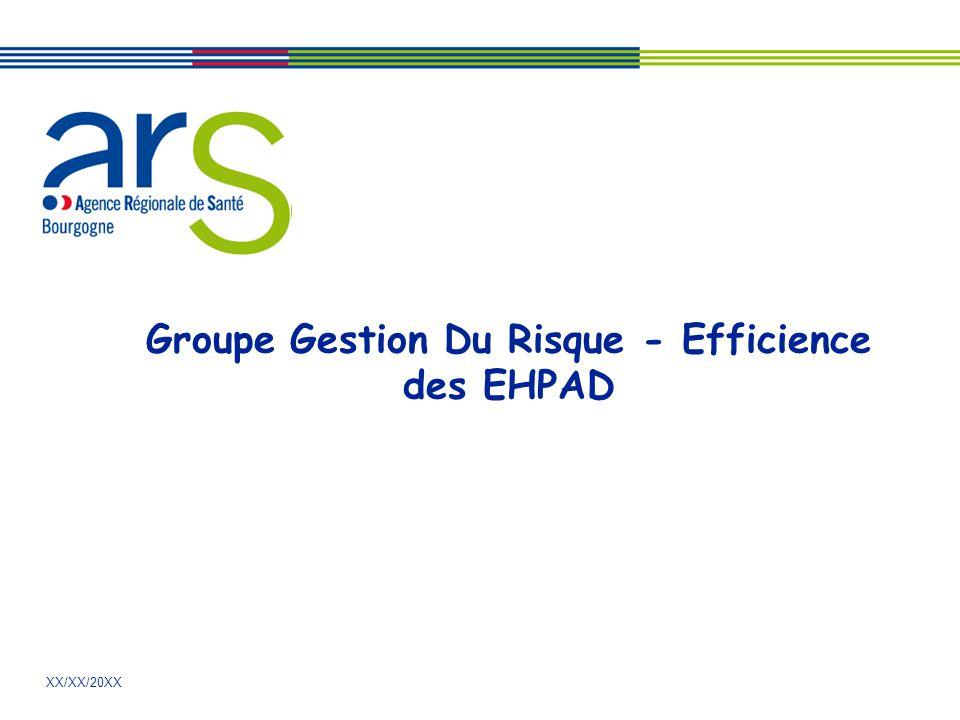 Groupe Gestion Du Risque - Efficience des EHPAD