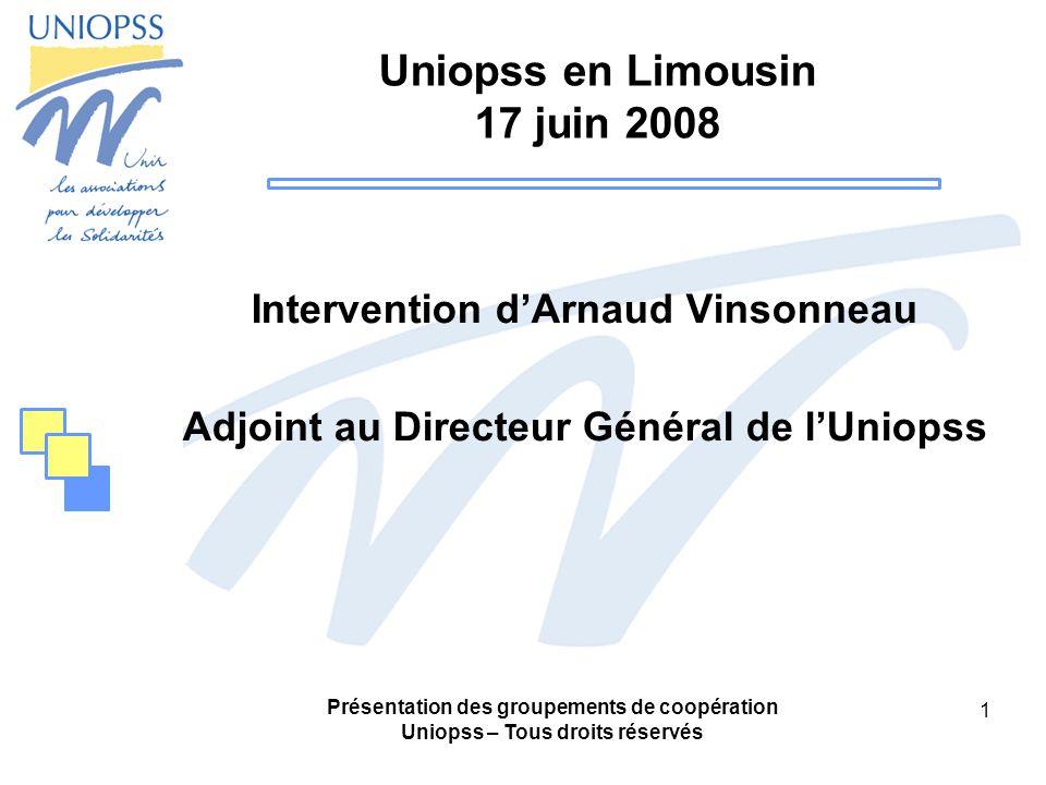 Uniopss en Limousin 17 juin 2008