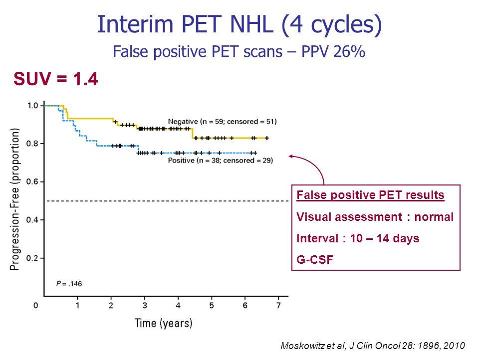 Interim PET NHL (4 cycles)