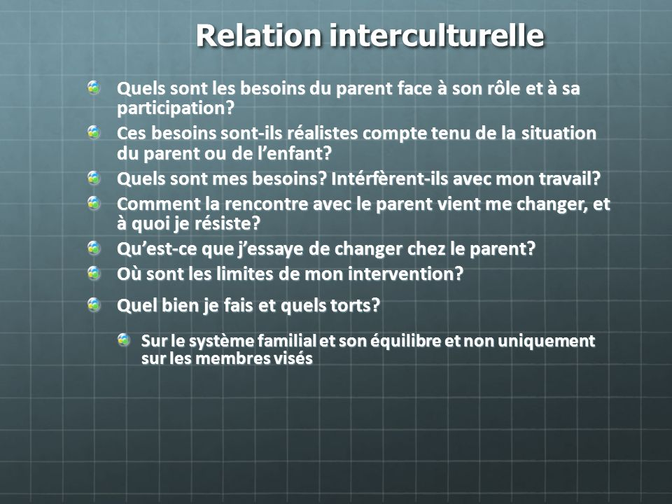 Relation interculturelle