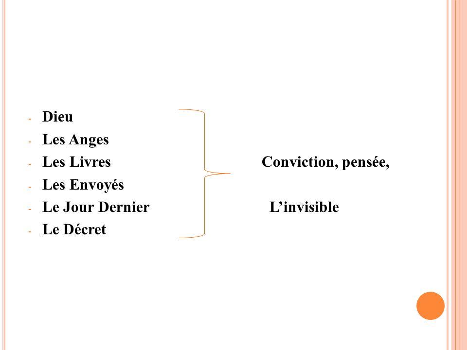 DieuLes Anges.Les Livres Conviction, pensée, Les Envoyés.