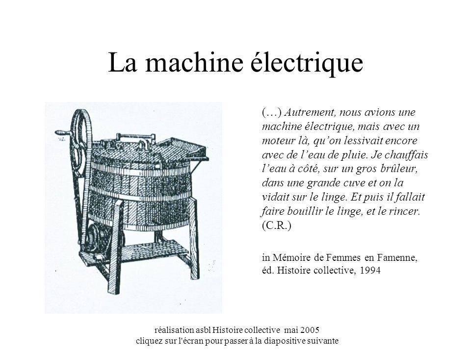 La machine électrique
