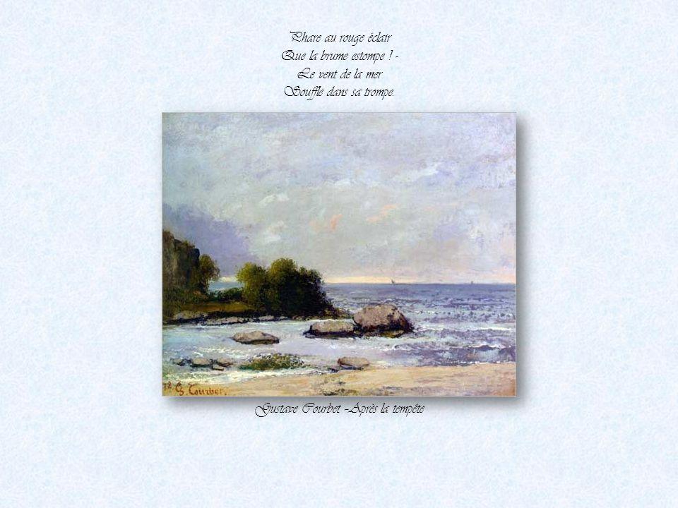Gustave Courbet –Après la tempête