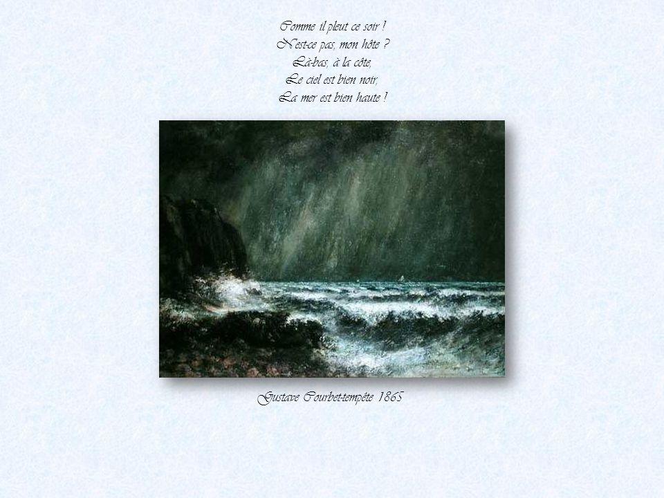 Gustave Courbet-tempête 1865