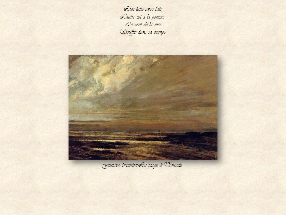 Gustave Courbet-La plage à Trouville