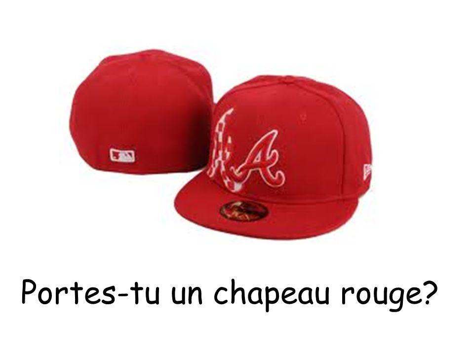 Portes-tu un chapeau rouge