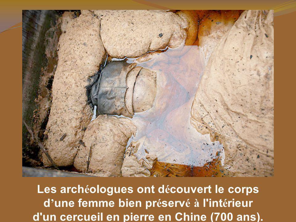 Les archéologues ont découvert le corps