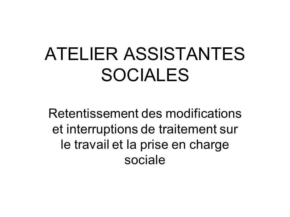 ATELIER ASSISTANTES SOCIALES