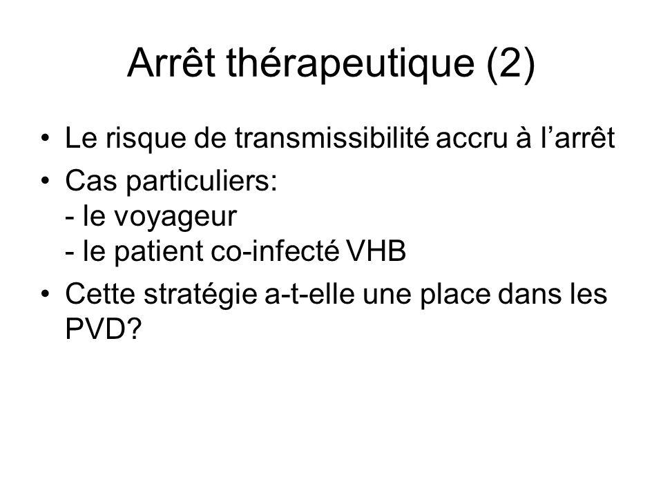 Arrêt thérapeutique (2)