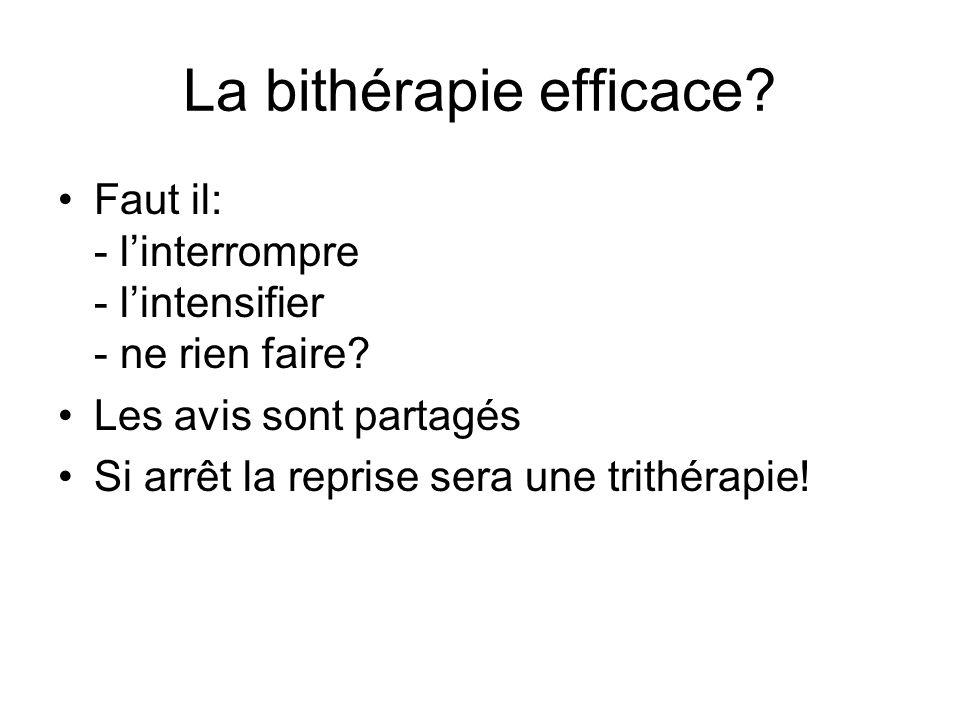 La bithérapie efficace