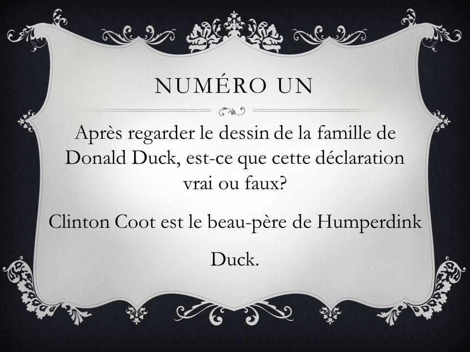 NumÉro Un