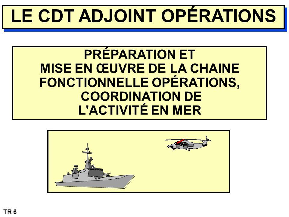 LE CDT ADJOINT OPÉRATIONS