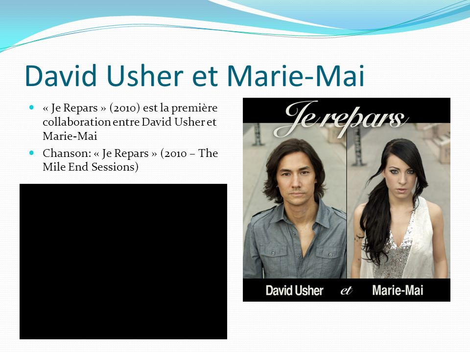 David Usher et Marie-Mai