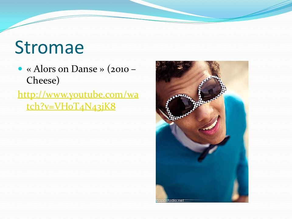 Stromae « Alors on Danse » (2010 – Cheese)