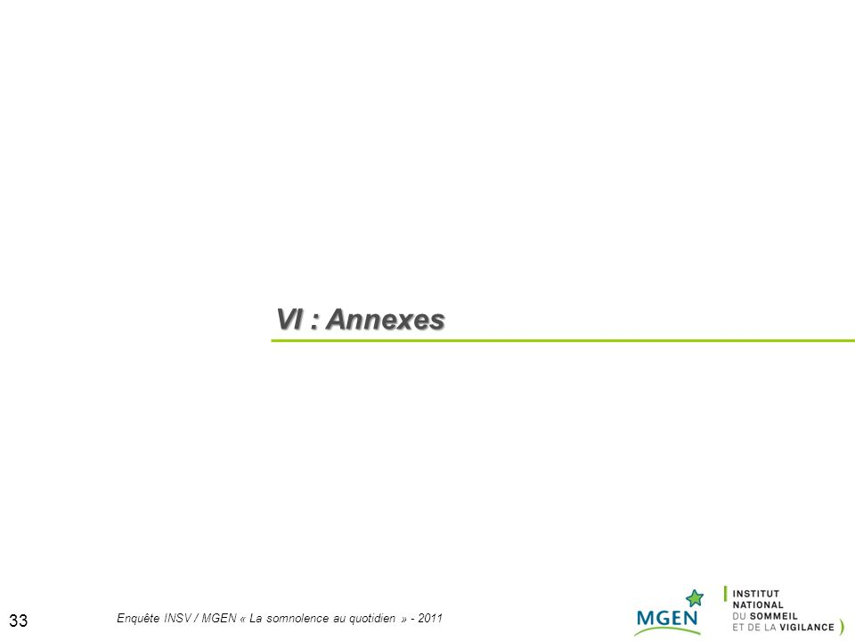VI : Annexes