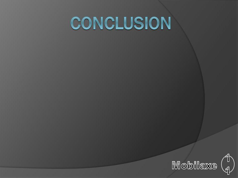 Conclusion 11 Mobilaxe