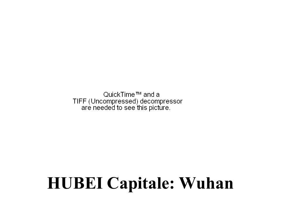HUBEI Capitale: Wuhan