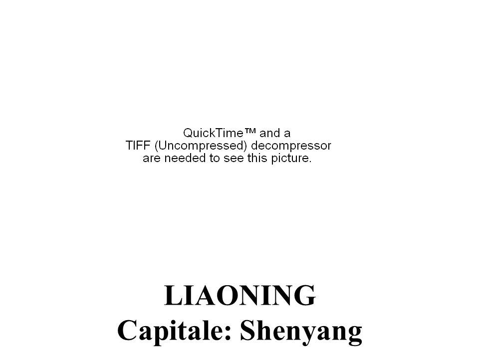LIAONING Capitale: Shenyang
