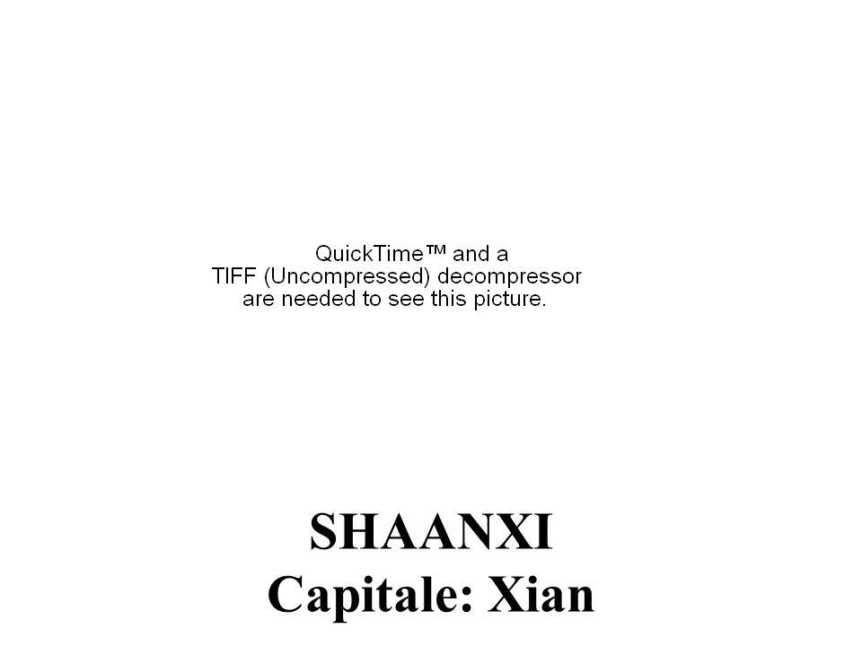 SHAANXI Capitale: Xian