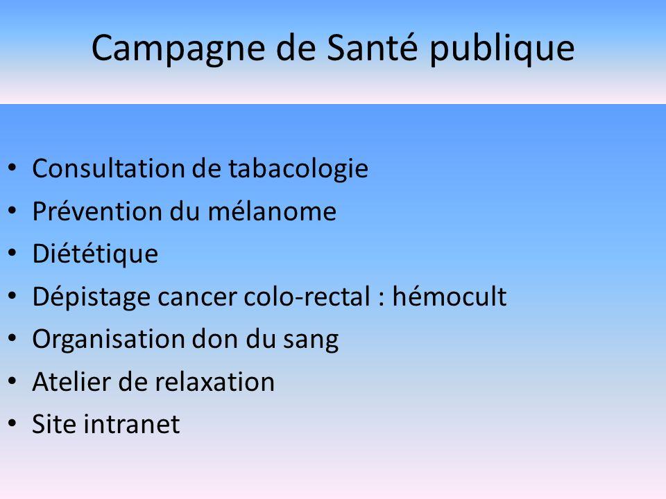 Campagne de Santé publique