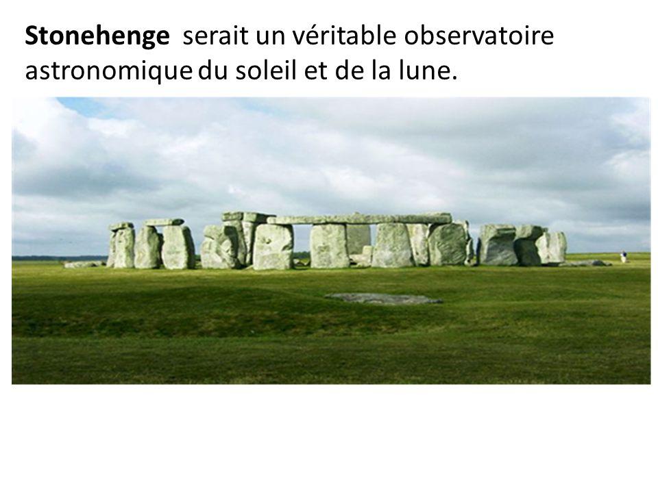 Stonehenge serait un véritable observatoire astronomique du soleil et de la lune.