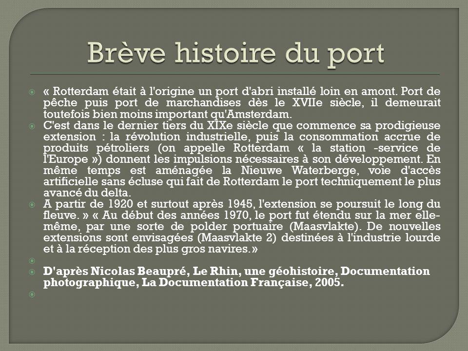 Brève histoire du port